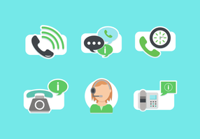 Call Center Vector Pack gratuito