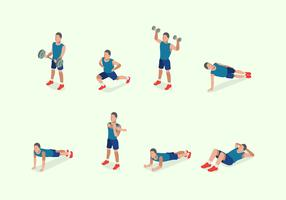 Free Illustration of Man Training Fitness