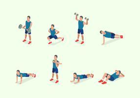 Free Illustration of Man Training Fitness