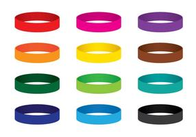 Colourful Wristband Vectors