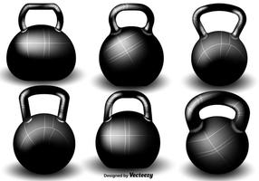 Vector Kettle Bell Set