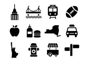 Free New York Icons Vektor