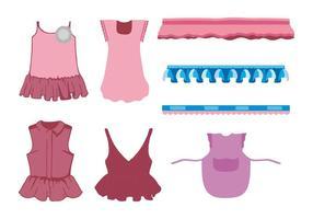freie Frauen Kleidung Vektor