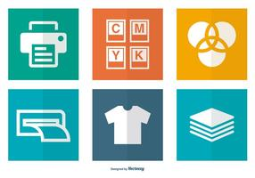 Printing Related Icon Collection