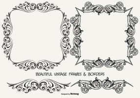 Collection Vintage Cadres and Borders