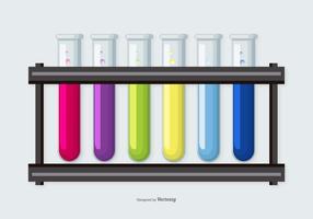 Färgglada Flaskor Vektor Samling