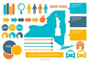 New York Infographic Elements