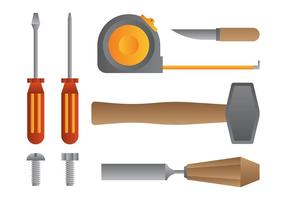 Bricolage-Vektor-Icons
