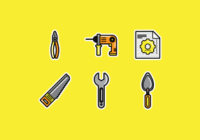 Bricolage Free Vector Pack