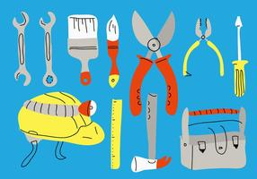 Bricolage Vector Illustration