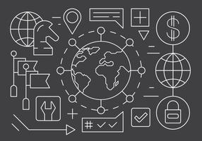 Gratis Global Business Icons