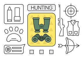 Éléments de chasse linéaire