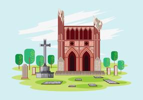 Dryburgh Abbey Vector