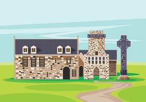 Illustration of Iona Abbey