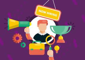 Nu Hiring Illustration