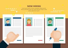 Now Hiring Illustration