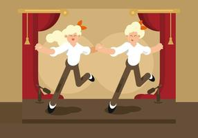 Tap Dancer Illustration