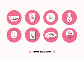 Gratis Plum Bloesem Vector