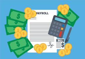 Payroll vector set
