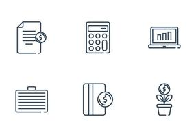 Payroll And Finance Icon vector