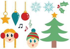 Kostenlose Weihnachts-Vektoren