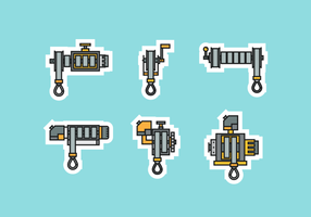 Winch Free Vector Pack