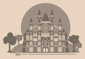 Westminster Abbey Free Vector Illustration