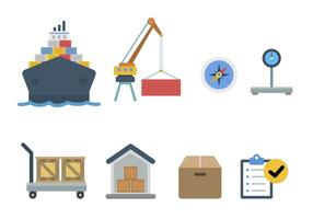 Flat Harbour Vectors