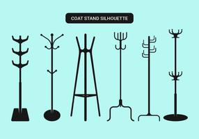 Coat Stand Vector Collection