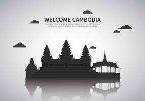 Free Cambodia Illustration