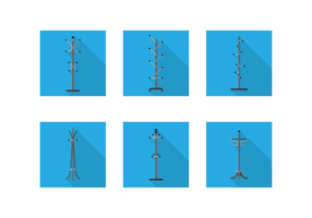 Coat Stand Gratis Vector Pack