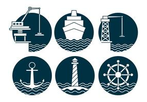 Harbour vector set