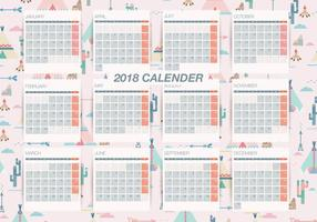 Pattern_background_printable_monthly_calendar_vector-01