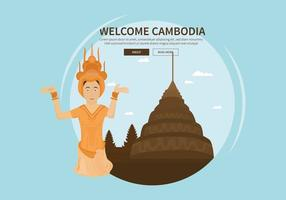 Illustration gratuite du Cambodge
