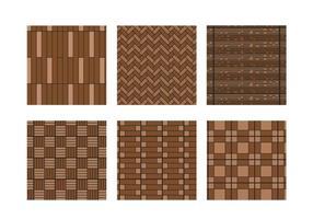 Laminate pattern vector set