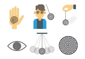 Hypnosis Vector Icons