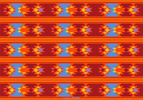 Schöner Dayak-Art-Muster-Hintergrund