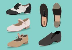 Tap Shoes Vector Pack