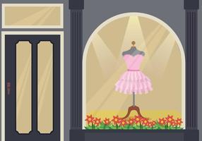 Free Frills Dress Illustration