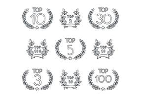 Laurel Breath Top List vector