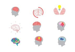 Open Mind Vector Icons