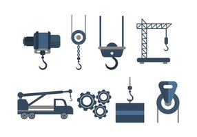 Gratis Winch Vector Collection
