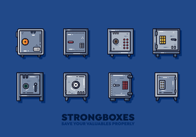 Gratis Strongbox Vector