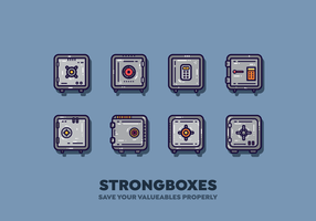 Free Strongbox Vector