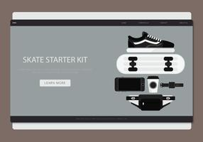 Skate Stater Pack Vektor