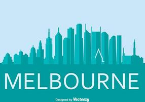 Mebourne Stadt Vektor