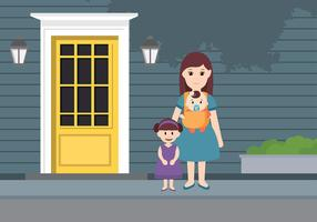 Nanny Day Care Free Vector