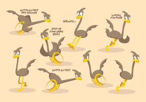 Kostenlose Roadrunner Vector Collection