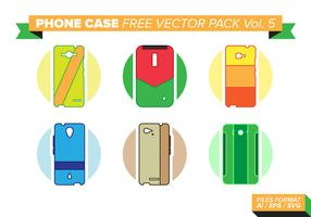 Phone Case Kostenlose Vector Pack Vol. 5