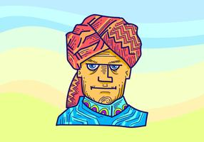 Turban Vector Illustration